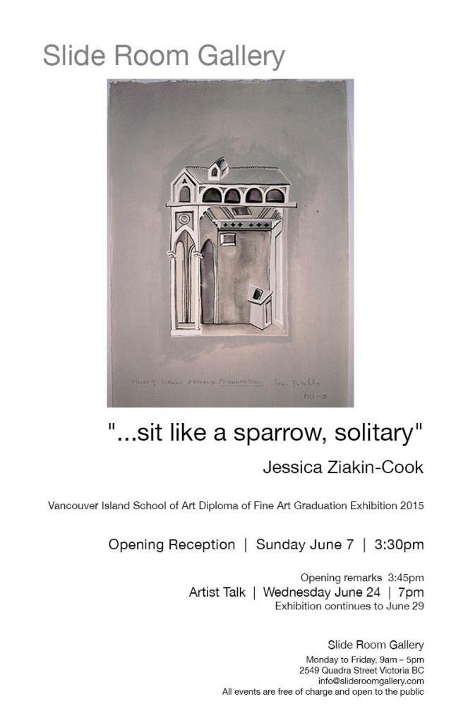 sit like a sparrow, solitary Jun2015